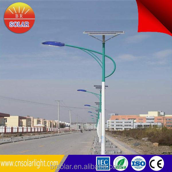 30w Moroccan led solar night light with CE ROHS approved 6m Pole 30W LED Design