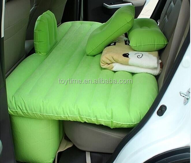 convenient travel use Inflatable car mattress, top quality foldable bed for sale