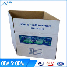 Wholesale custom design printed strong corrugated material 5-ply carton box for export