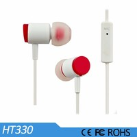 Mobile phone parts and accessories, metal headset with hifi earphone cable
