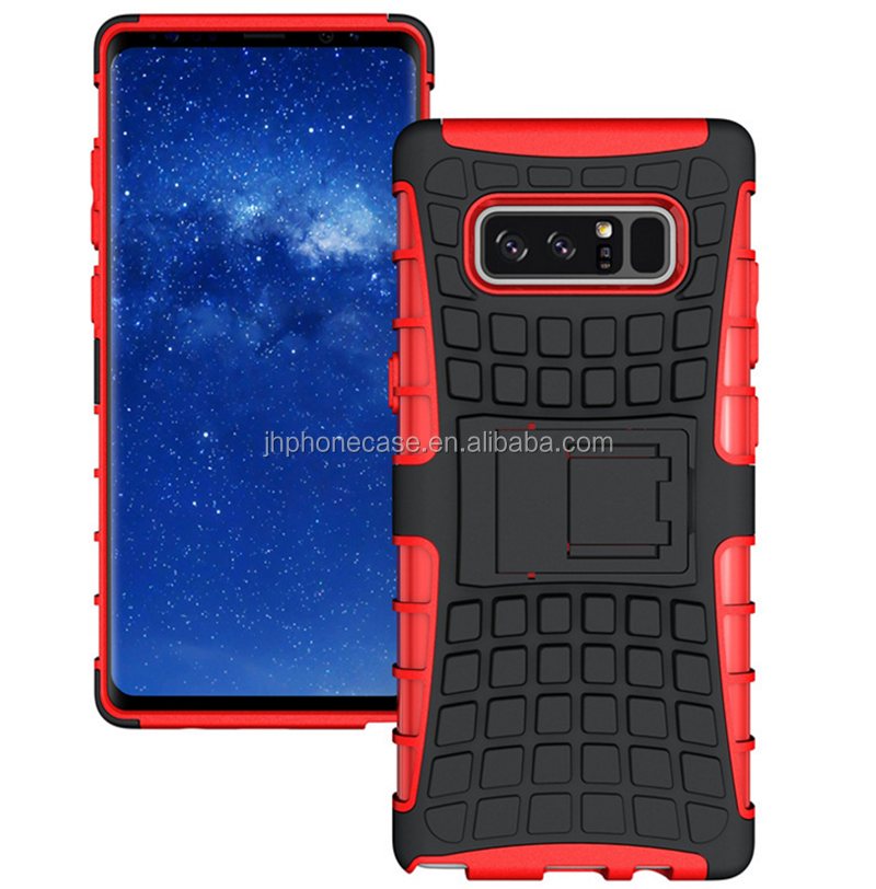 Top grade anti-drop football tyre armor case for Galaxy Note 8 factory direct wholesale price