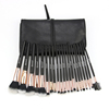 Professional 21pcs make up brush set rose gold cosmetic brush with cosmetic bag