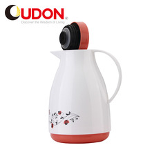Best Selling Hot Product 500ml Plastic Glass Liner Insulated Tea Coffee Pot
