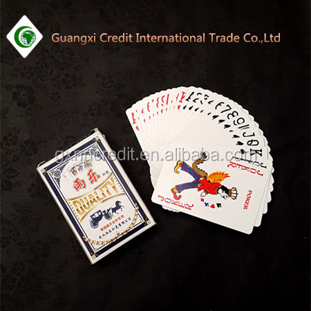 Wholesale price paper casino pokers