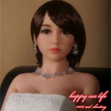 chinese closed eye full silicone real love doll