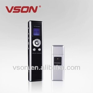 Hot selling wireless presenter with laser pointer