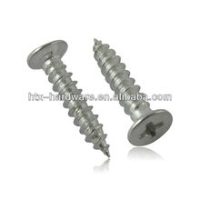 counter sunk self tapping screws making with high grade in din standard