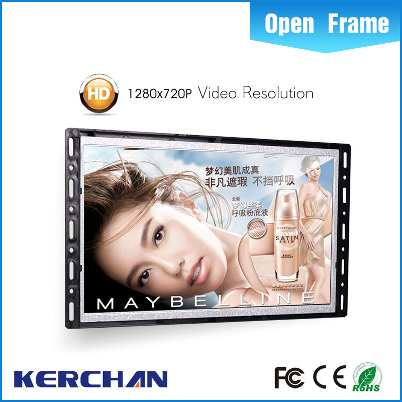 2016 high quality wall mount video display digital poster