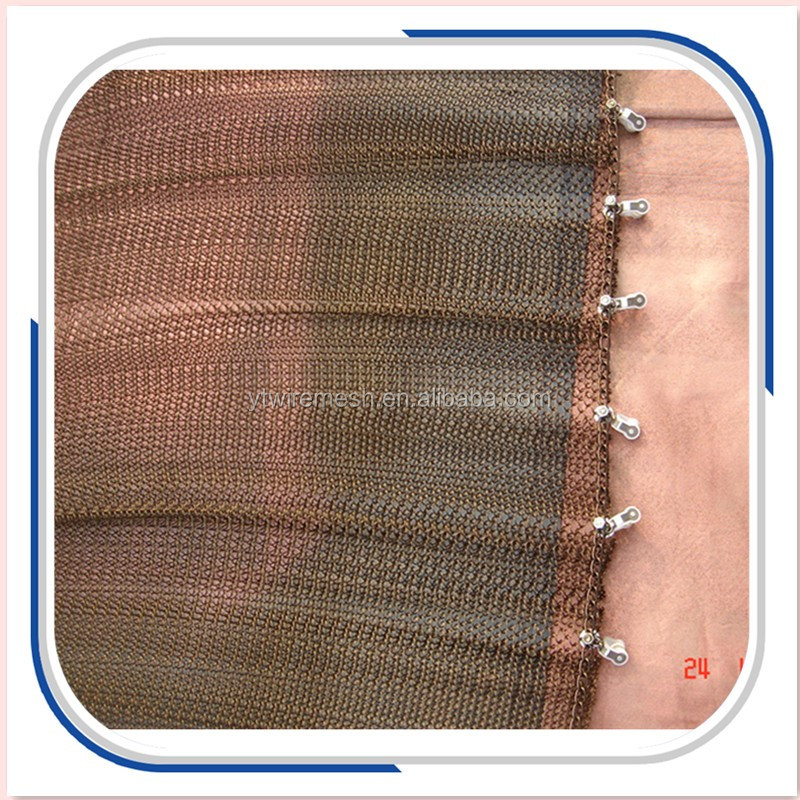 Metal Coil Drapery Curtain