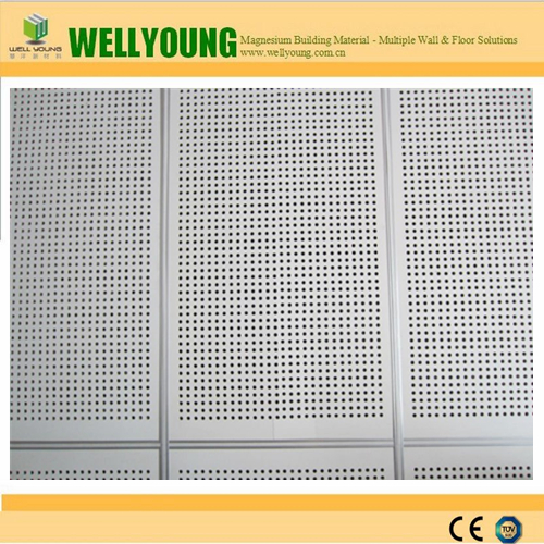 perforated nonmetal acoustic magnesium oxide board