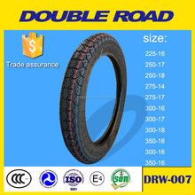 China manufacturer 3.50-16 motorcycle tire and other sizes for sale