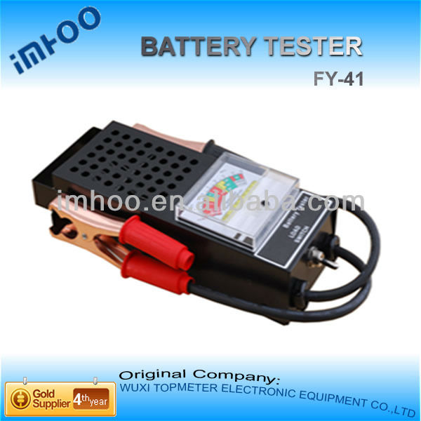 hydrometer analog hearing aid Car Battery Tester FY-41