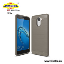 Lightweight Carbon Fiber Cell Phone Cover For Huawei Enjoy 7 plus