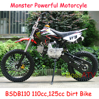 CE ISO EPA provided Pit Bike Motorcyle 110cc 125cc Dirt Bike