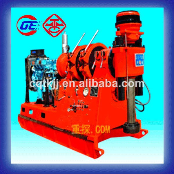 2015 depth 1000m used portable XY-1000 water well rotary drilling rig machine