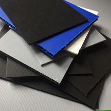 pp honeycomb black color 100% recyclable plastic bubble sheet