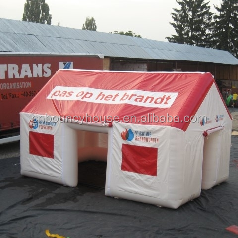 Outdoor air portable temporary structures giant Inflatable dome buildings