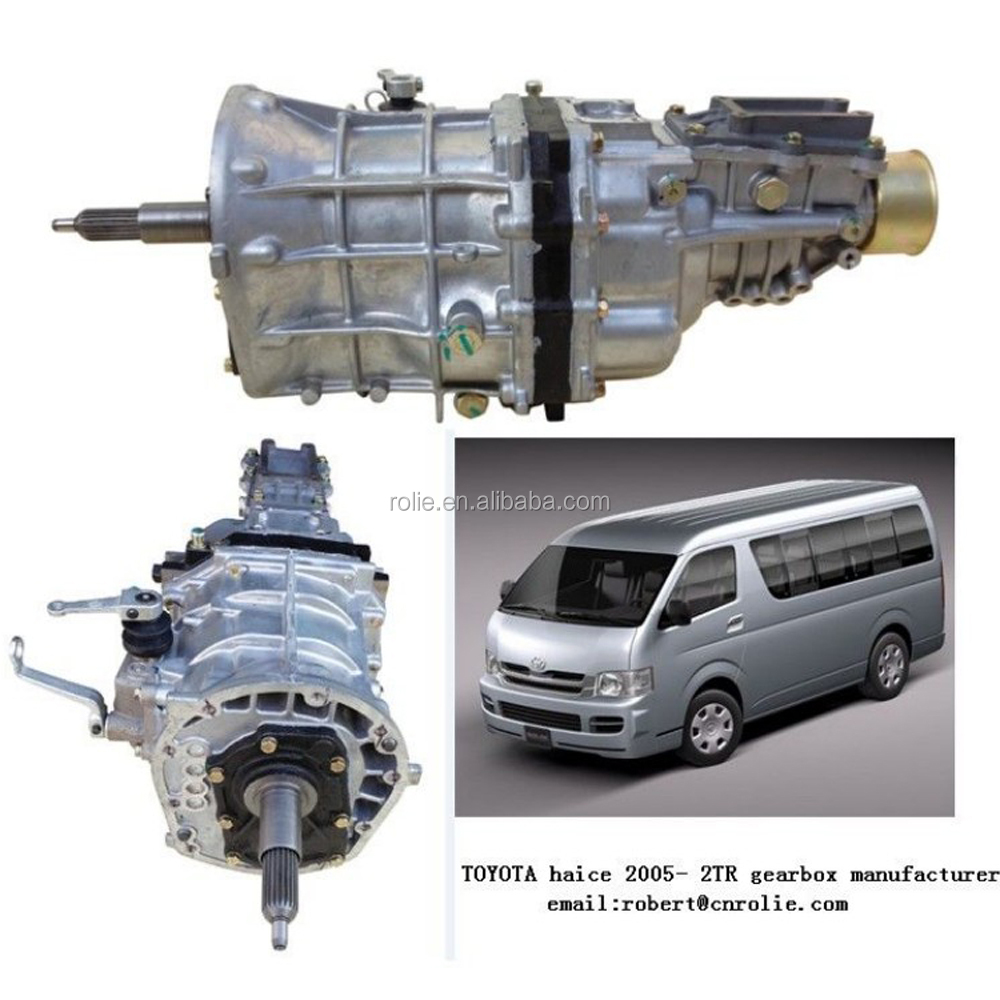 Auto Parts brand new toyota hiace manual transmission gearbox 2TR with factory price