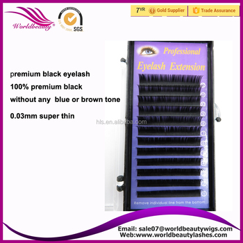 coming on the way!!! Premium black super thin 0.03mm eyelashes extensions