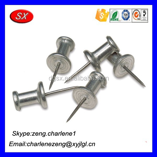 Stainless Steel Push Pins , Push Pins Plastic Head , Self locking pins from Guangdong manufacturer