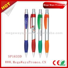 Plastic promotional ball pen rec