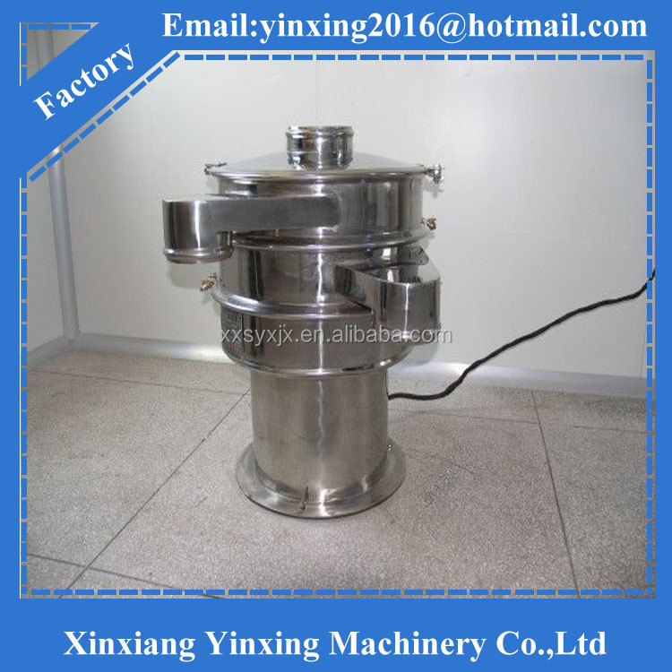 stainless steel salt refining vibratory screen machinery