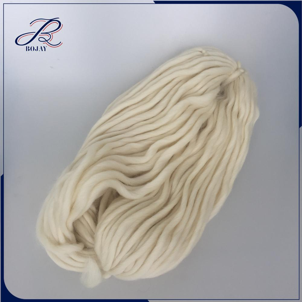 0.4NM 100% merino wool 25 micron Dyed Yarn