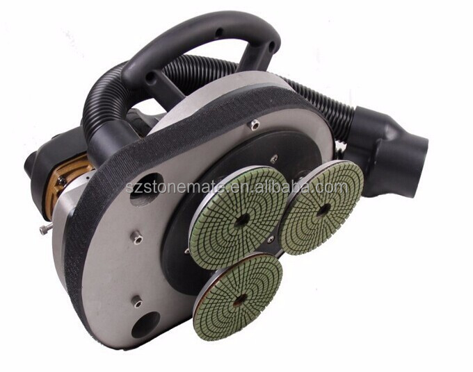 H3PM 3 head wet polisher power tools