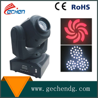 led stage light moving lights 10W white led spot gobo shake moving head