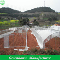 low cost agricultural greenhouse