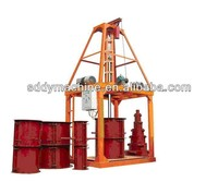 QT-120 pipe machine concrete