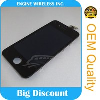 strictly 100% tested one by one digitizer + lcd for iphone 4s chinese phones spares