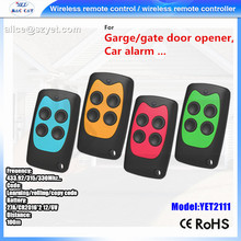 YET2111 Universal Remote Control 4 Channel 433 Controle Remoto
