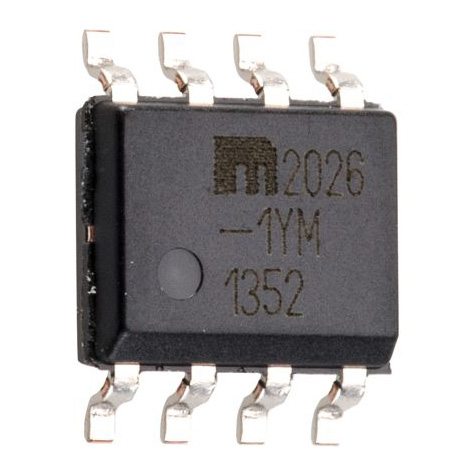 MIC2026-1YM-TR MIC2026-2YM with best price in stock USB Power SW Hi Side/DIST Dual 5.5V 0.9A 8-Pin SOIC N Tube