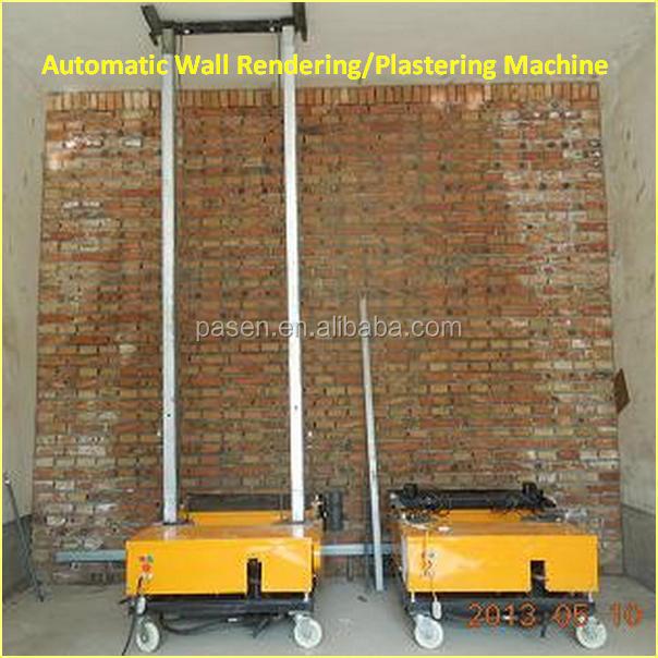 새로운 기술 벽 석고 기계/벽 시멘트 스프레이 석고 기계-연출 ...