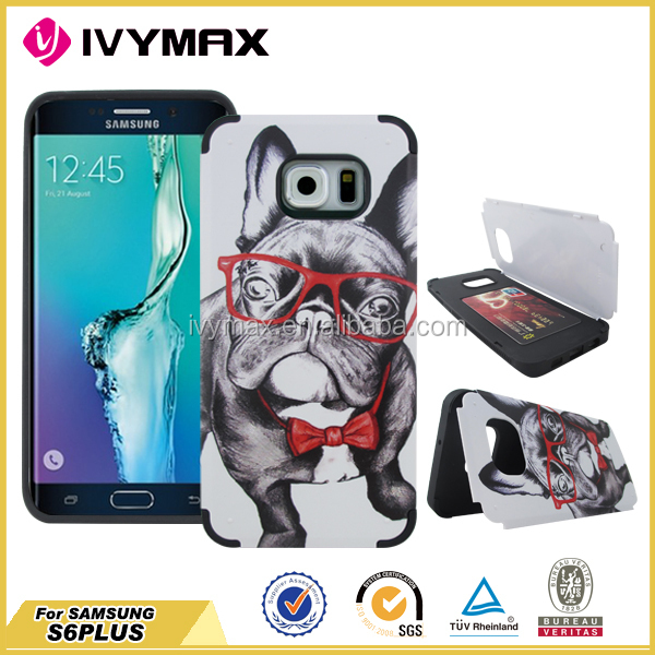 IVYMAX 3d sublimation cell phone case for samsung S6 edge plus
