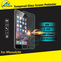 Manufacturer Wholesale clear tempered glass screen protector for iphone 6 screen protector OEM/ODM