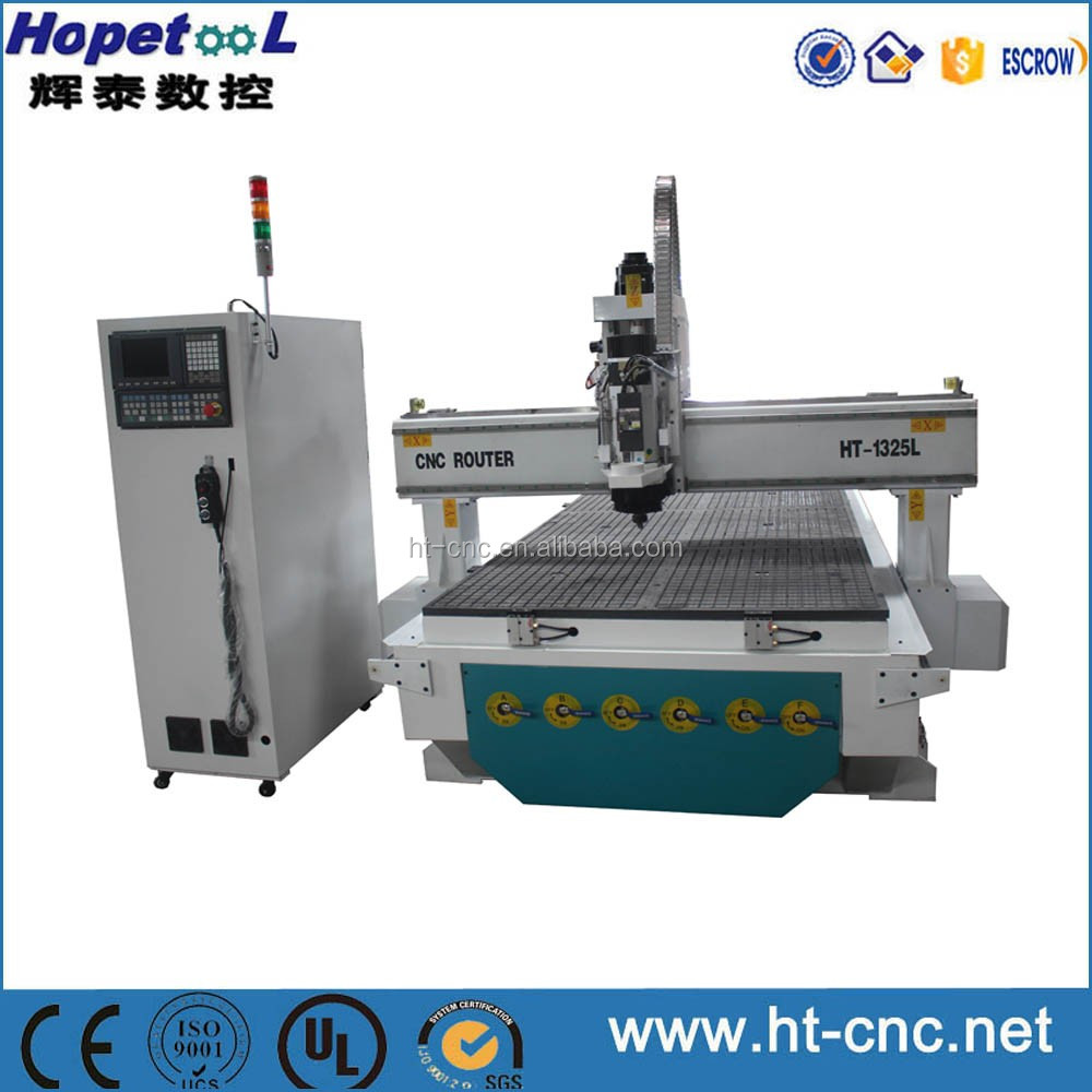 Top configuration HSD spindle 1325 atc cnc router 1325