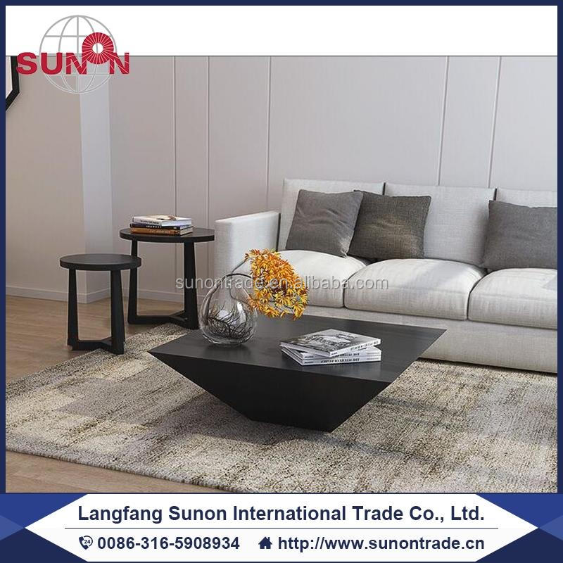 Ship mdf wooden simple tea table furniture