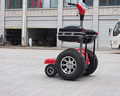 4 wheel self balancing mobility electric chariot covered electric scooter