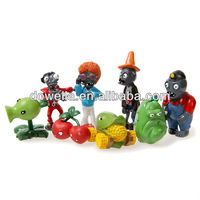 plants vs zombies figure plastic toy