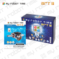 Above eight years old students educational DIY building blocks robot