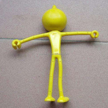 OEM plastic wire bendable toy figure for promotional gifts