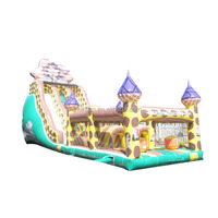 Home use inflatable water slides , indoor inflatable slide toys for babies