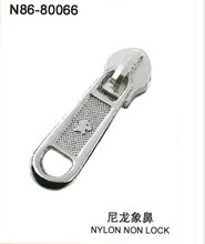 Fashion design durable soft plastic luggage zipper puller