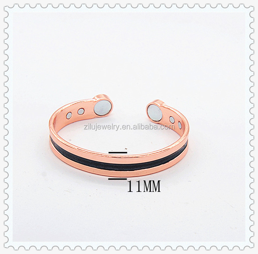 zilu jewelry magnetic copper bangle with maganetic or germanium , copper magnetic jewelry