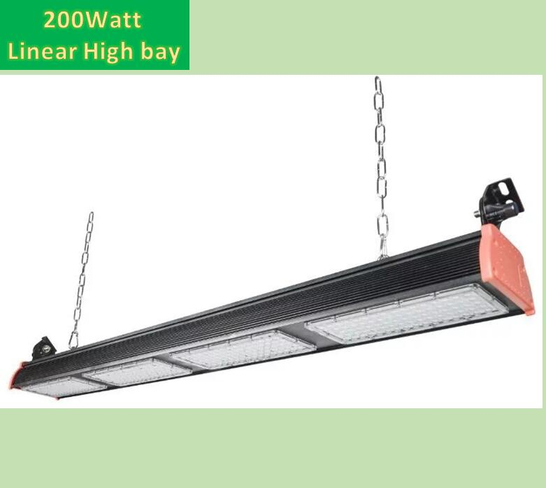 2017 new Explosion-proof linear industrial led high bay light 200w ip66