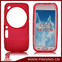 pudding plastic cover for samsung galaxy s4 zoom c1010 case