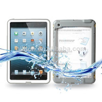 Factory price waterproof diving case for iPad mini with retail packaging