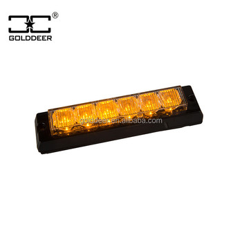 Tir 6W LED Strobe Warning headlight Grille Lights (GXT-6)